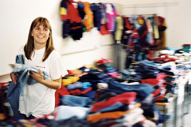 Kleiderkammer, Sozialarbeit, DRK