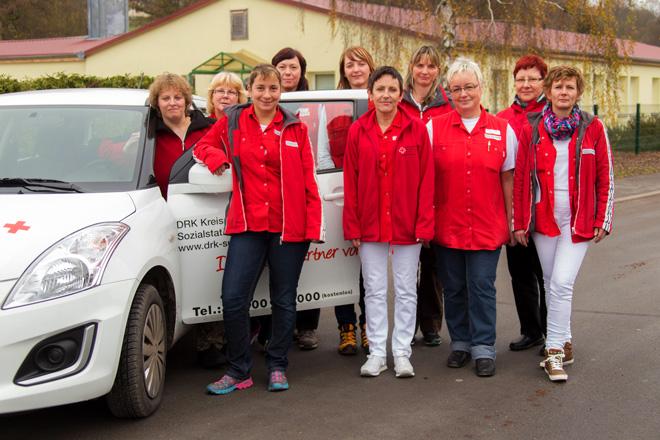 Unser Team der Sozialstation Schleusingen