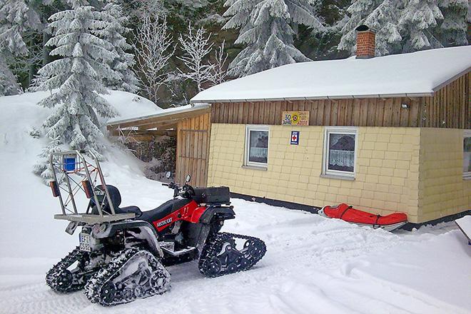 Stützpunkt der Bergwacht Suhl-Goldlauter