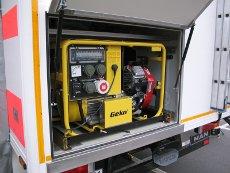 Stromversorgung des Einsatzleitwagens