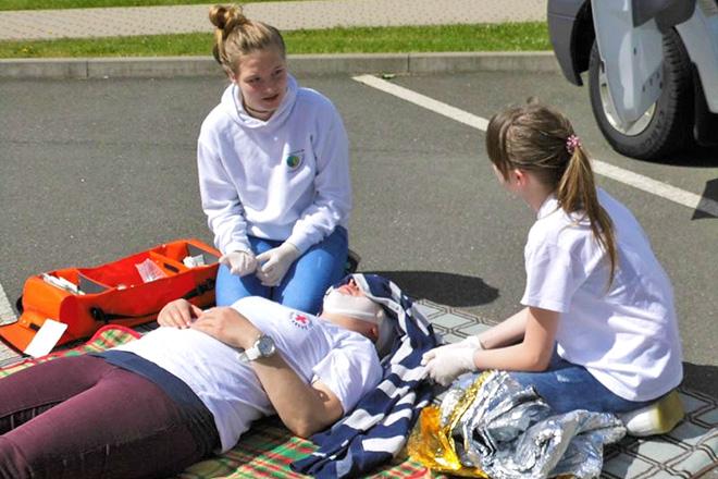 Erste Hilfe Ausbildung in der Ortsgemeinschaft