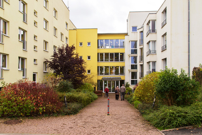 Gebäude des Seniorenwohnheims Zella-Mehlis