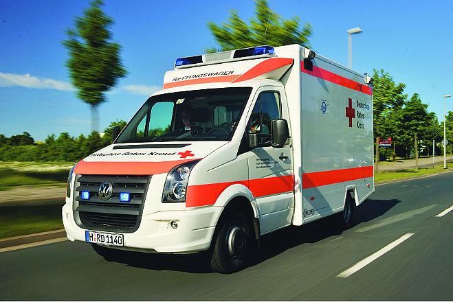 Deutsches Rotes Kreuz, Erste Hilfe Rettung, Rettungsdienst, Auto, Fahrzeug, VW, Volkswagen