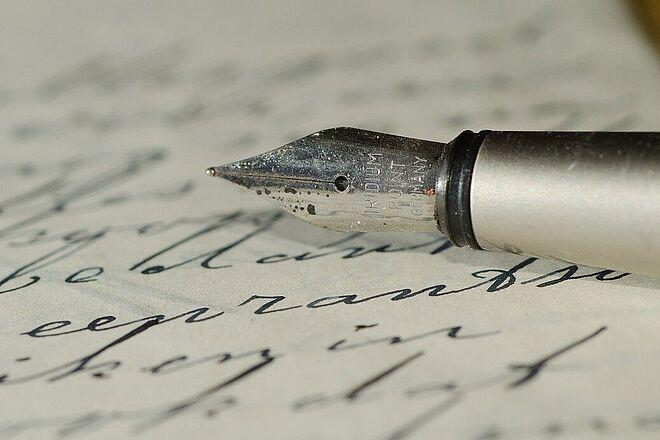 Themenbild Brief und Füller