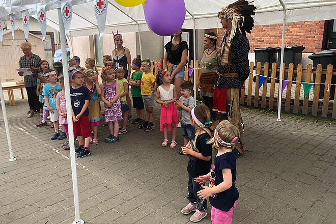 Eröffnung Indianerfest